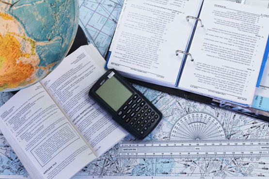 ספרי לימוד עם מחשבון ניווט
